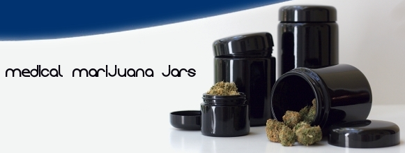 Medical Marijuana Jars Offer Storage Light Protection Toke of the