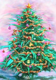 German Police Seize Marijuana Christmas Tree | Toke of the Town