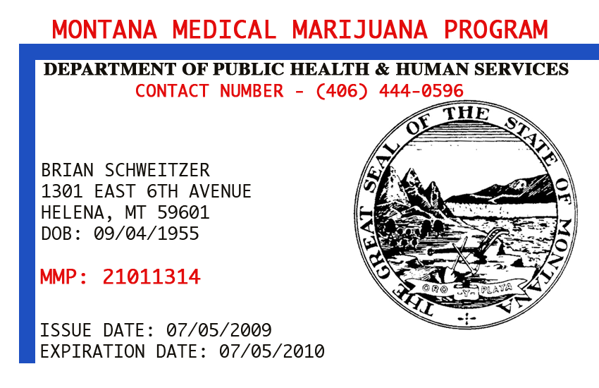 Montana Stops Issuing Medical Marijuana Cards | Toke of the Town