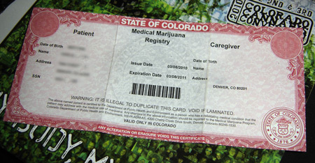 Colorado Snafu Town For Punishing Marijuana The Toke Medical Doctor Patients Of