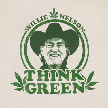 Willie_Nelson_Think_Green_Cream_Shirt.jpeg