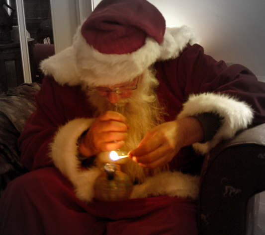 Humboldt Stories Santa S Sativa Powered Sled Toke Of