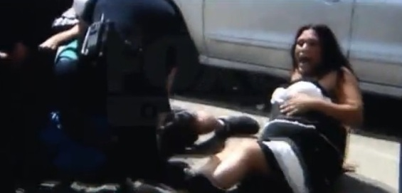denver.police.video.excessive.force.screen.capture.pregnant.woman.2-thumb-565x271.jpg