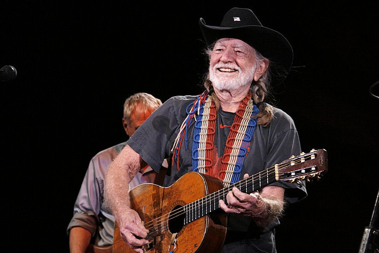 Willie Nelson at Red Rocks