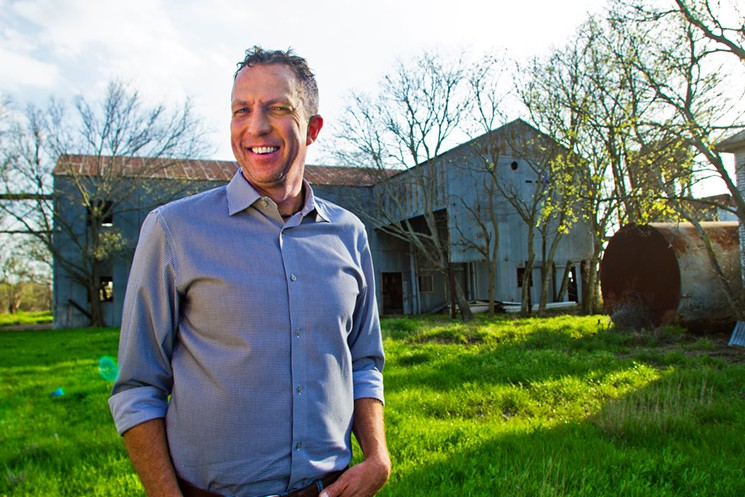 Patrick Moran, CEO of Texas Cannabis, plans to turn the former cotton gin in Gunter into a facility to produce cannabis oil.