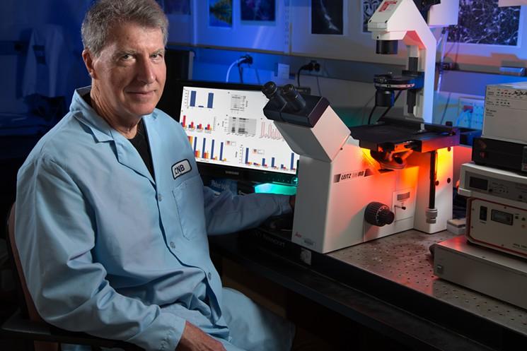 David Schubert, the senior author of the Salk Institute study on THC and Alzheimer's disease.