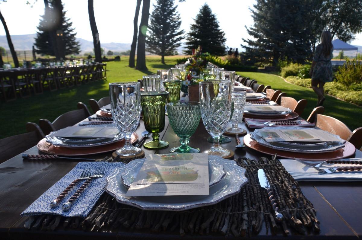Mason Jar Event Group hosted their Cannabis Paring Dinner at Shupe Homestead Farm.