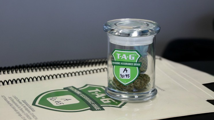 The TAG program tests marijuana for things like fungus and mildew.