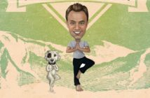 Yogi D and his dog want to teach you a thing or two about cannabis and yoga practice.